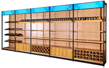 精品超市鋼木貨架